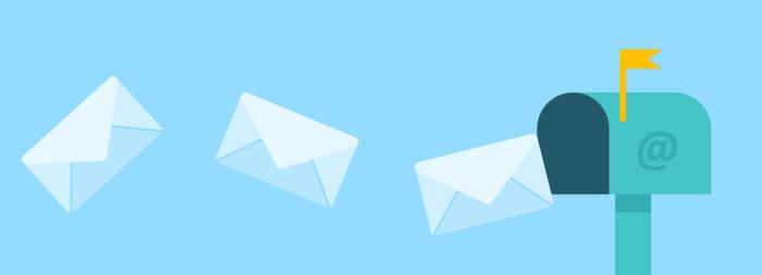 maile przychodzące do skrzynki mailowej